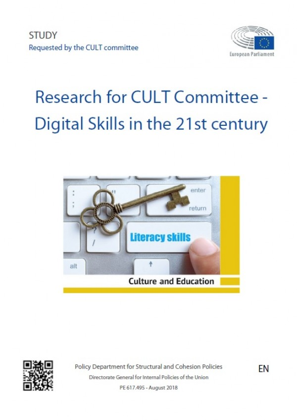 Research for CULT Committee - Digital Skills in the 21st century