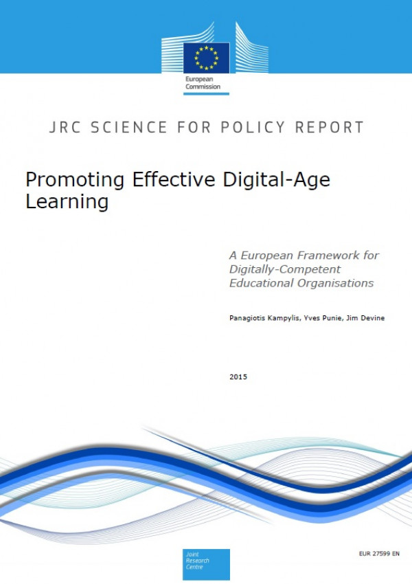Promoting effective digital-age learning. A European framework for digitally-competent educational organisations