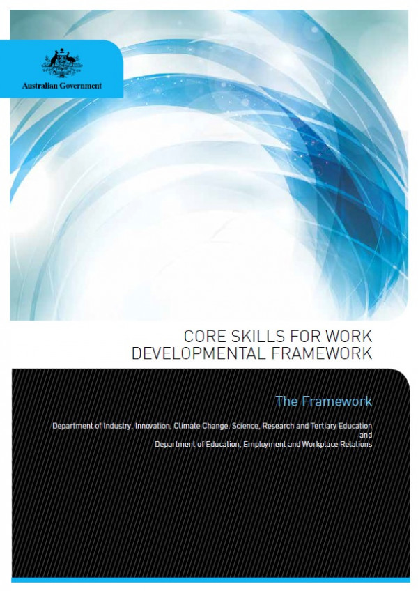 Core Skills for Work Developmental Framework
