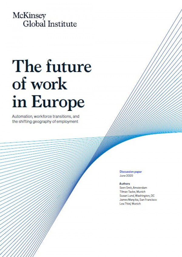 The future of work in Europe. Automation, workforce transitions, and the shifting geography of employment