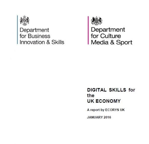 Digital Skillls for the UK Economy. A report by ECORYS UK